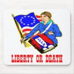 4 de julio de 1776 libertad o Día de la Independen Alfombrillas De Ratones