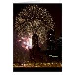 4 de julio de 2005 en Chicago Tarjeta De Felicitación