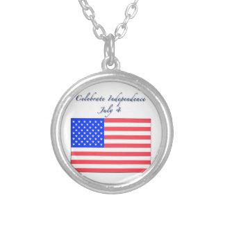 4 de julio Día de la Independencia Pendiente Personalizado