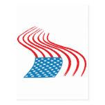 4 de julio - Día de la Independencia - pintada de  Postal