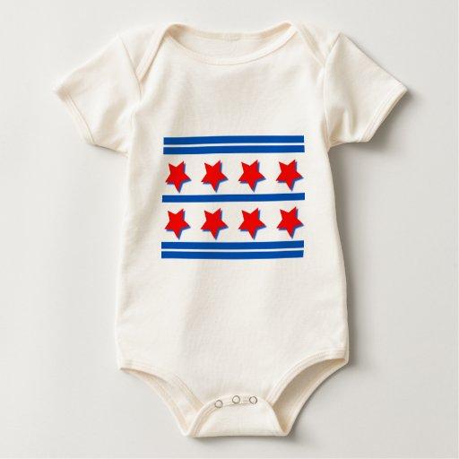 4 de julio diseño de la celebración trajes de bebé