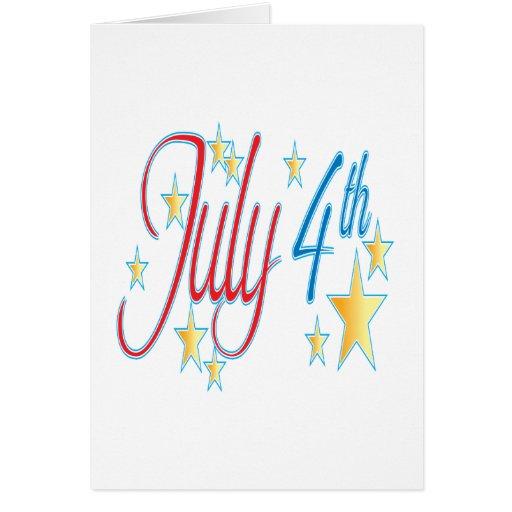 4 de julio felicitación