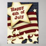 4 de julio feliz impresiones