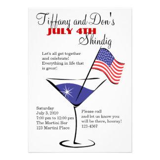 ¡4 de julio festejo alborotado de Martini