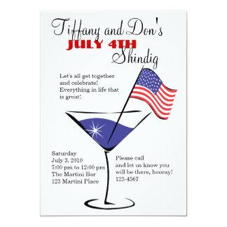 ¡4 de julio festejo alborotado de Martini!