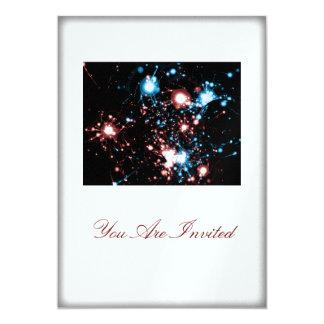 4 de julio fiesta Spangled estrella de la barbacoa Invitaciones Personalizada