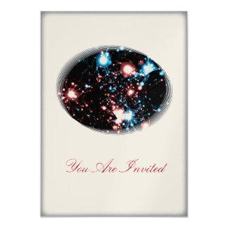 4 de julio fiesta Spangled estrella de la Invitación Personalizada