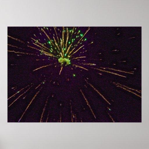 4 de julio fuegos artificiales 7 impresiones
