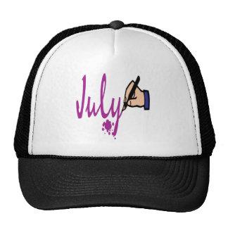 4 de julio gorra