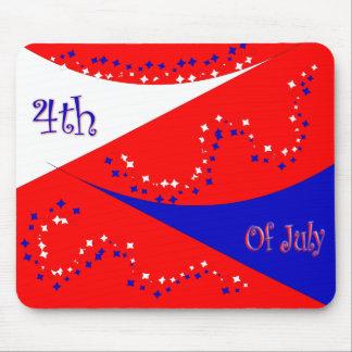 4 de julio mousepad