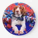 4 de julio - perro de aguas de Bretaña - Charlie Reloj