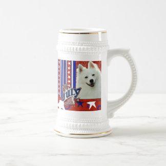 4 de julio petardo - esquimal americano jarra de cerveza