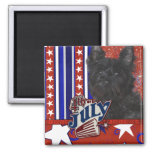 4 de julio petardo - oscuridad de Terrier de mojón Iman