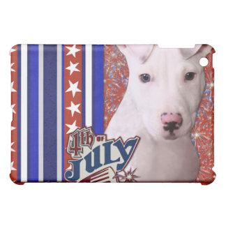 4 de julio petardo - perrito de Pitbull - Petey