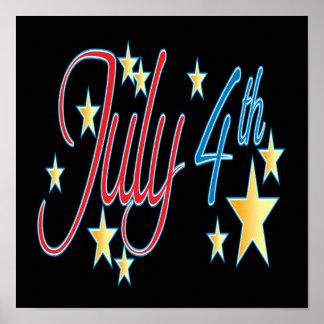 4 de julio póster