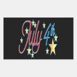 4 de julio rectangular altavoz