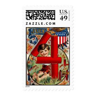 4 de julio sello