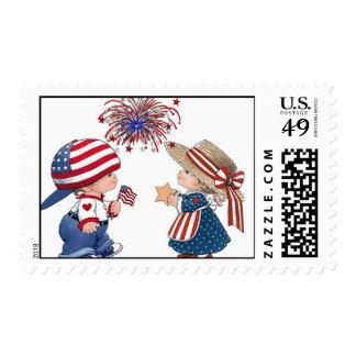 4 de julio sellos