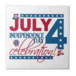 4 de julio teja de la celebración