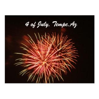 4 de julio, Tempe, Az Postal