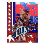 4 de julio - Yorkie - Jake Postal