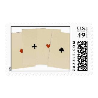 4 de una clase sello