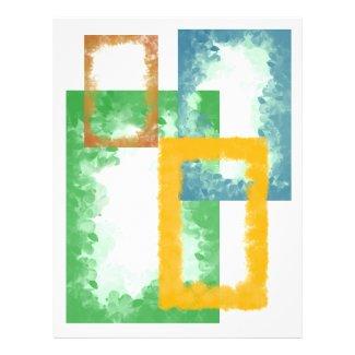 4 Decorative Transparent Frames Template Event Flyer