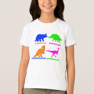 """""""4 Dinosaurs"""" Pictorial T-Shirt"""