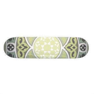 4 Directions - Lime & Sage Skateboard