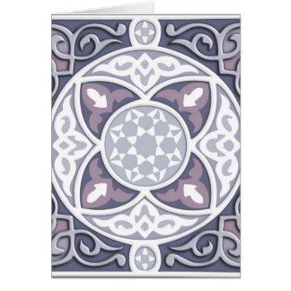 4 Directions - Silver & Lavender Card