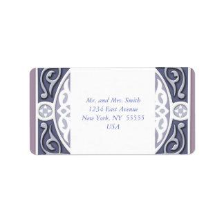 4 Directions  - Silver & Lavender Label