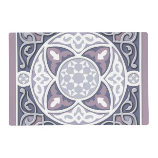 4 Directions  - Silver & Lavender Placemat
