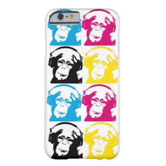 4 DJ Monkeys CMYK Barely There iPhone 6 Case