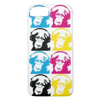 4 DJ Monkeys CMYK iPhone 8/7 Case