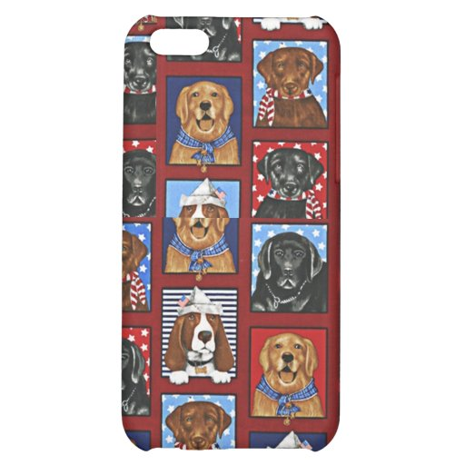 4 Dog Lovers Pet Bark Cover For iPhone 5C