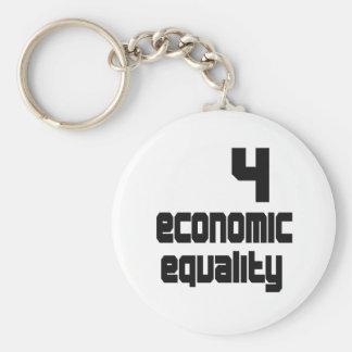 4 Economic Equality Keychain