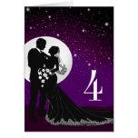 4 Enchanted Evening Moonlit Wedding Place Card