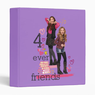 4 Ever Friends 3 Ring Binder