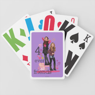 4 Ever Friends Bicycle Playing Cards
