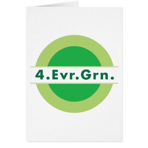 4.Evr.Grn. Tarjeta De Felicitación