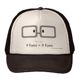 4 Eyes > 2 Eyes Trucker Hat