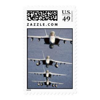 4 FA-18 Super Hornets Postage