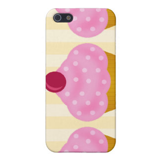 4 Fancy Cupcake Kawaii  Cover For iPhone SE/5/5s