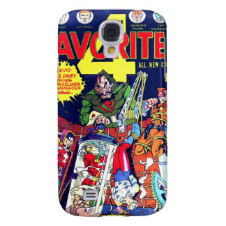 4 Favorite #5 Comic Book Samsung Galaxy S4 Cases