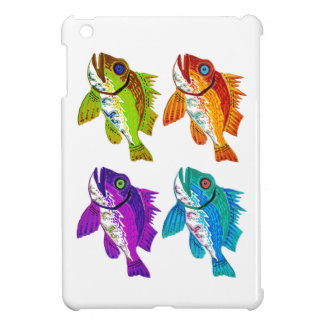 4 Fish abstract art Gifts iPad Mini Covers