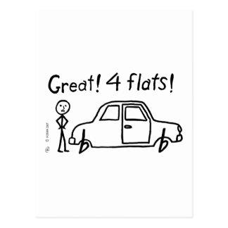 4 Flats Postcard