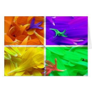 4 Florals Card