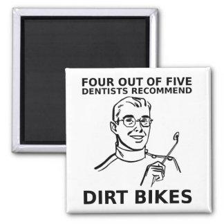 4 fuera del imán del motocrós de la bici de la