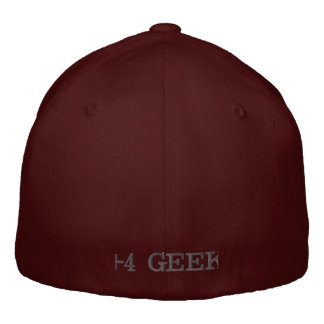 +4 GEEK EMBROIDERED HAT