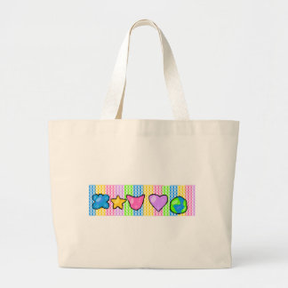 4 Girls Canvas Bags